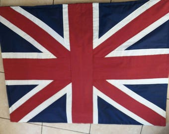 carpet flag English union jack's hand
