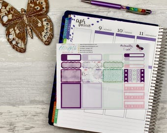 Actually, I Can Add On Sheet | planner stickers, habit trackers, checklists, half boxes, full boxes