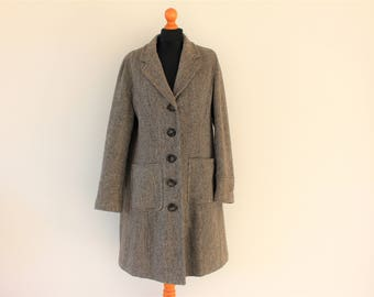 Tweed coat | Etsy