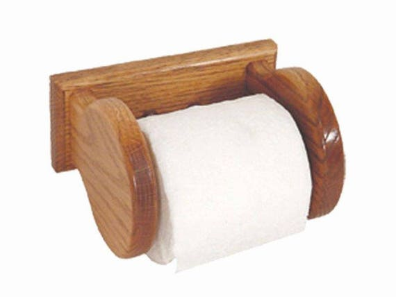 oak wall mounted toilet paper holder amish made in the usa. Black Bedroom Furniture Sets. Home Design Ideas