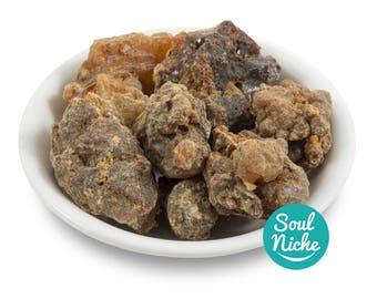 Myrrh Resin Incense - Premium Myrrh - Gum Myrrh Ogadain, Commiphora Myrrha, Large Pieces, Spiritual Incense, Ritual Incense