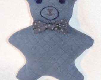 Blue bear blanket 1 age