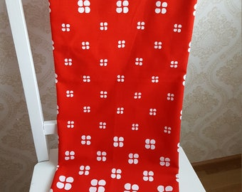 Finnish Finlayson Retro tablecloth Made in Finland in 70s