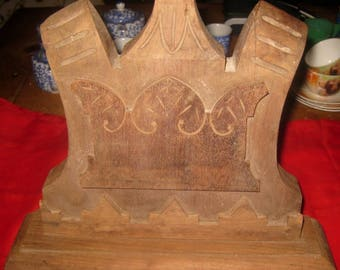 Salvage Piece Of Wood From an Antique Piece Of Furniture