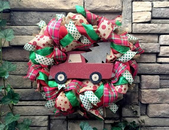 Christmas Wreath, Farmhouse Christmas, Christmas Home Decor, Cottage Christmas, Country Christmas, Christmas Decor, Christmas Gift, Holidays