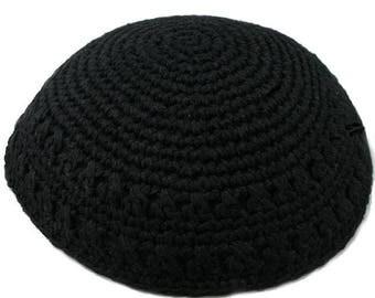 Kippah crocheted - adult child mixed - bar mitzvah - kippot