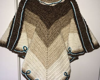 Double thick poncho