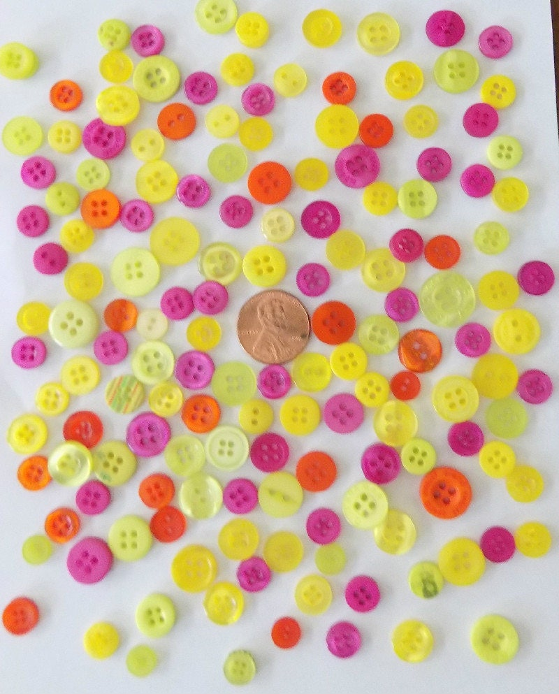 Bulk buttons for crafts -  4 49