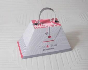 Dragée box - customizable box -wedding box
