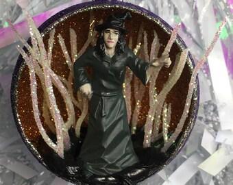 Wicked Witch Ornament Terrarium