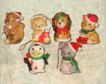 Character Christmas Bell Ornaments