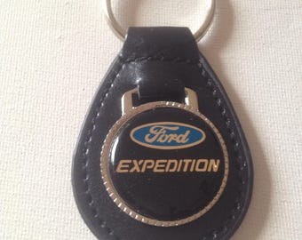 Ford Expedition Keychain Genuine Leather Ford Key Chain