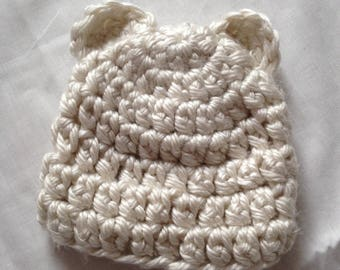 Infant Polar Bear Hat