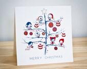 PRINTABLE : Christmas Tree Card