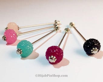 Rock Candy Hijab Pin Collection
