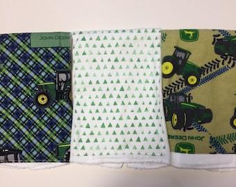 REGISTRY ITEM: Set of Three Burp Cloths