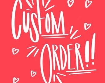 Custom Sweatshirt Order - Annelise - 1/2 Payment