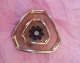 Beautiful Gold and Black Brooch