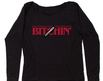 B-tchin' Slouchy Off Shoulder Oversized Sweatshirt