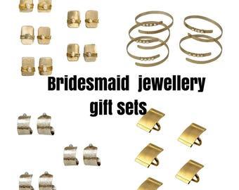 Bridesmaids jewelry sets