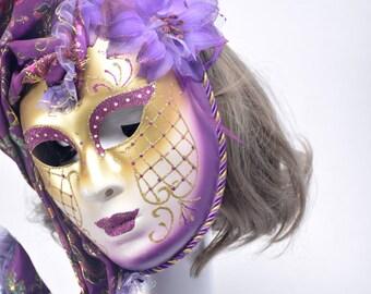 Venice Masquerade party mask #MA16012