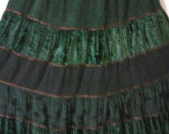 53.  Pretty Gathered Skirt