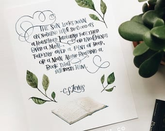 Family, Friends, Books quote by C. S. Lewis