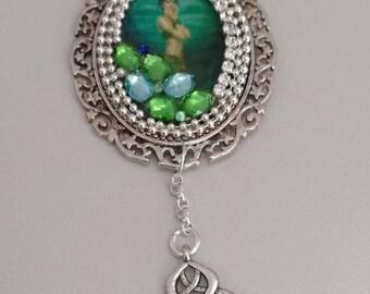 """Necklace """"Brocéliande Lady"""""""