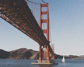 San Francisco Photography, Golden Gate Bridge, Golden Gate Print, San Francisco Art, Travel Photography, Bridge Poster, Fine Art Photography