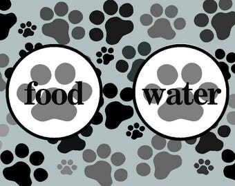 Personalized pet mat Dog food mat Pink Purple Cat food mat Pet Placemat Pet mat Personalized dog Mat Pet gifts New dog gift Pet feeding bowl