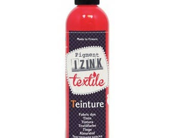 Dyeing textile best red Made in France 180 ml
