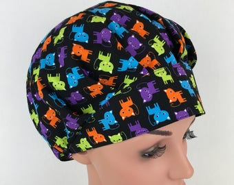 Bouffant Surgical Scrub Hats Scrub Caps Surgical Technologist  Scrub Hats for Women Surgical Cap