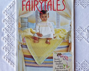 Vintage baby knitting magazine - FAIRYTALES  Magazine - For Baby - Knitting Patterns Book - Patons