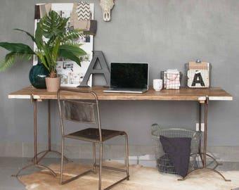 Vintage Trestle Desk