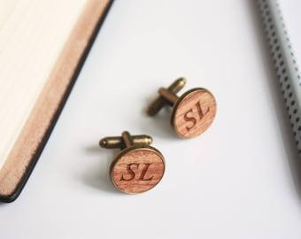 Wedding cufflinks, Cufflinks for Groom, wood cufflinks, personalized cufflinks, Custom Cufflinks, Personalized Cufflinks, groom cufflinks