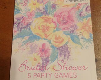 bridal,shower games