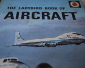 The Ladybird Book of Aircraft. Vintage Children's book. Series 584. First Edition