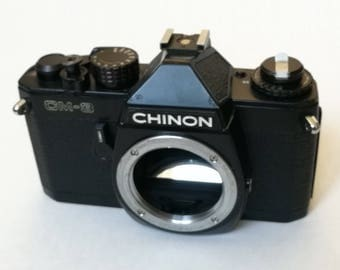 Chinon CM-3 with New Light Seals. Ready-To-Use Vintage 1970s M42 Mount SLR Camera Body