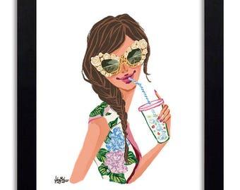 Dolce and Gabbana - Fashion Illustration Print Fashion Print Fashion Art Fashion Wall Art Fashion Poster Fashion Sketch Illustration Print