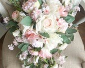 Blush pink, pale pink and...