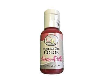 Neon Pink Gel Food Coloring - CK Products - 20 grams
