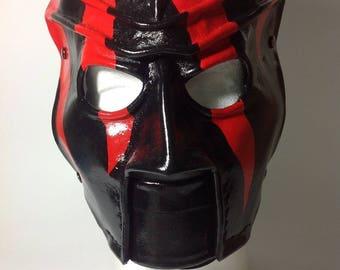 Leather Kane Mask Replica 2000-2002 Version 4 Halloween