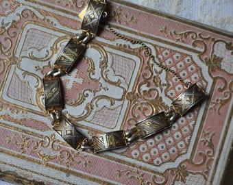 Vintage Damascene Spanien Armbänder