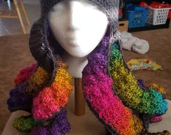 Crochet octopus hat pattern