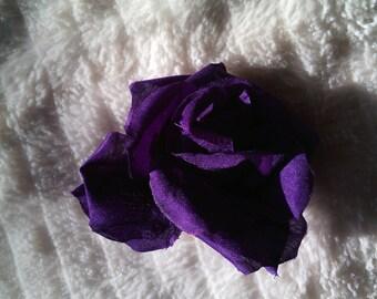 Pink artificial flower fabric