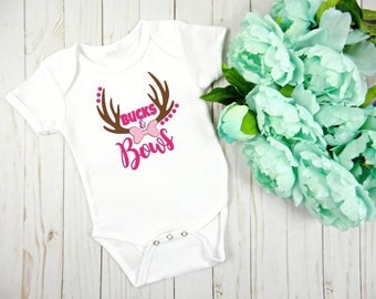 Country Baby Onesie, Hunting Baby Clothing, New Baby Gift