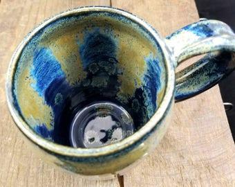 Extra Large Coffee Mug, Large Ceramic Mug, Pottery Mug, Coffee Cup, Ceramic Mug, 14 ounces