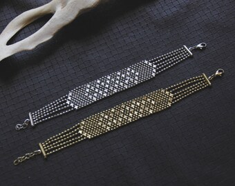 Stars Bracelet - Metal Beads - Chic - Gypsy - Original - Fairy - Pixies - Festivals -
