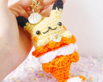 LIMITED** Merkitty Crochet/Amigurumi: Pikachu Version