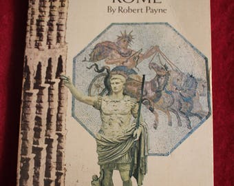 """Old Paperback Book, """"Ancient Rome"""" by Robert Payne, C. 1970, Mediterranean Ancient History"""